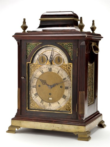 Lot 1070-Eardley Norton: a George III mahogany and brass...