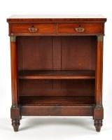 Lot 1140-A Regency mahogany chiffonier, the rectangular...
