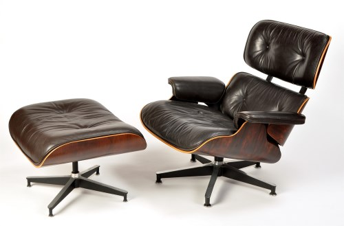 Lot 141-Charles & Ray Eames for Herman Miller: a 670 bent ...