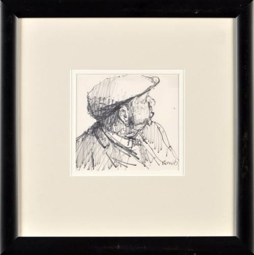 Lot 292-Norman Stansfield Cornish PORTRAIT OF A MAN...