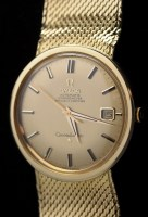 Lot 609 - Omega Constellation: an 18ct. gold cased...