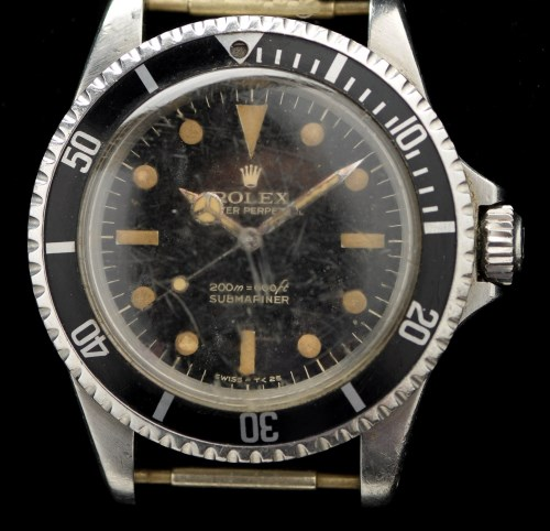 Lot 629-Rolex Oyster Perpetual Submariner: a stainless...