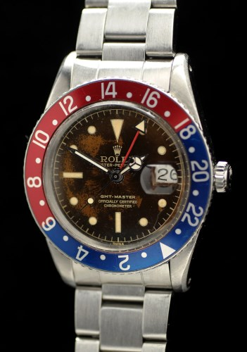Lot 637-Rolex Oyster Perpetual GMT Master: a gentleman's...