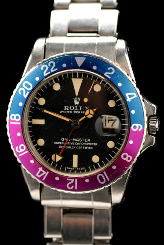 Lot 638-Rolex Oyster Perpetual GMT Master: a gentleman'...