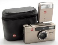 Lot 967-A Leica Minilux zoom 35mm film camera, with Leica ...