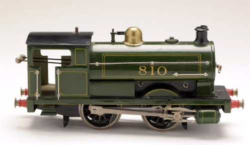 Lot 508-A clockwork locomotive, by Bing for Bassett...