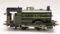 Lot 508-A clockwork locomotive, by Bing for Bassett Lowke,...