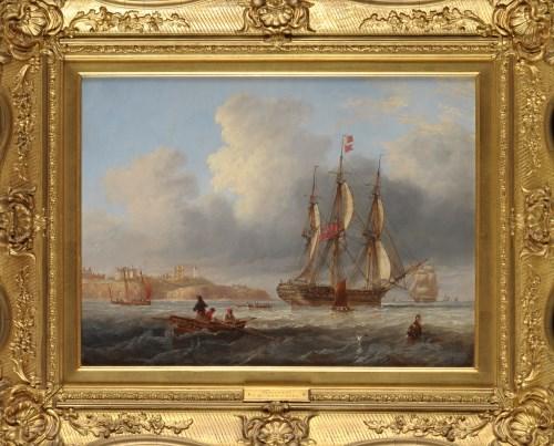 Lot 1209-John Wilson Carmichael (1799-1868) ''TYNEMOUTH''...