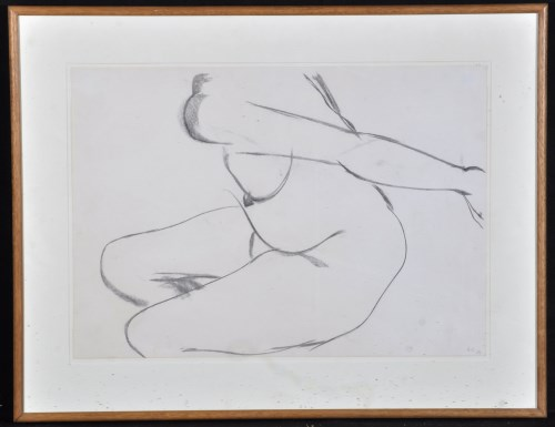 Lot 1323-Anthony Caro ''Drawing No. 218'' - a female nude, ...