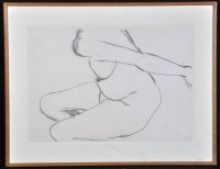 Lot 1323-Anthony Caro ''Drawing No. 218'' - a female...