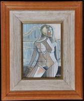 Lot 1434-O*** Nunes Modernist style study of a female...