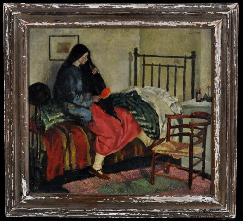Lot 1442-James Fitton ''No. 2, The Bedroom'', signed;...