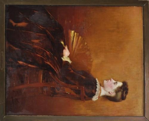 Lot 223-George Walton (1855-1891) ''Portrait of Kate...