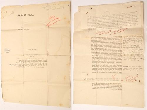 Lot 316-Sir Winston Leonard Spencer-Churchill: two...