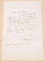 Lot 317-John Ruskin (1819-1900): a manuscript letter to...