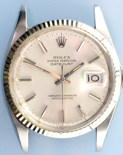Lot 617-Rolex Oyster Perpetual Datejust: a gentleman's...