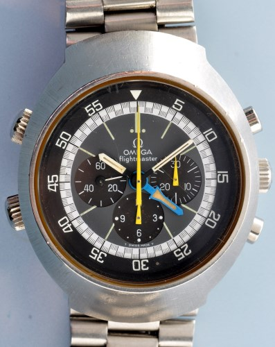 Lot 619-Omega Flightmaster: a gentleman's chronograph...