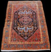 Lot 845 - A Malaya rug, with bold geometric design and...