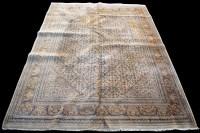 Lot 853 - A Ziegler carpet, with small diamond-shaped...