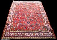 Lot 855 - A Tabriz carpet, with scrolling floral design...
