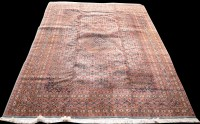 Lot 863 - A Bidjar carpet, the central medallion and...