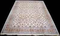 Lot 881 - A Kashmir carpet, with floral scrolling design...