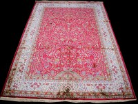 Lot 882 - A Kashmir carpet, with tree of life design,...