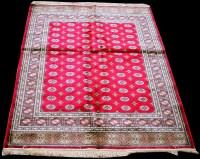 Lot 884 - A Kashmir Bokhara type rug, with tekke...