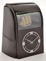 Lot 910-Vitascope: a bakelite automaton clock, with...