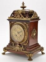 Lot 918 - A late 19th Century walnut and giltmetal...