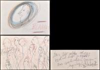 Lot 5 - Josef Blahaut ''Menschen'' 1980 Signed Pencil...