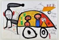 Lot 6 - Ida Buchmann ''Zigeuner-Wagen'' 1988 Signed...