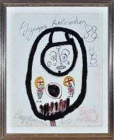 Lot 7 - Ida Buchmann ''Zwinglikalender'' 1988 Signed,...