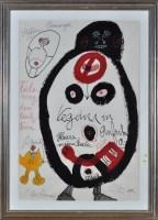 Lot 8 - Ida Buchmann ''Negerin in Afrika'' 1988 Signed...