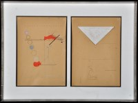 Lot 9 - Ernst Caramelle ''Zuhause'' and ''Brief''...