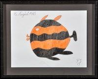 Lot 13 - Johann Fischer ''Der Agwariumfisch'' 1985...