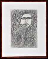 Lot 35 - Johann Hauser ''Frauenkopf'' 1969 Pencil on...