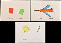 Lot 37 - Johann Hauser ''Flugzeug'' 1976 Signed Pencil...