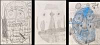 Lot 39A - Rudolf Horacek ''Gesicht'' Signed and...