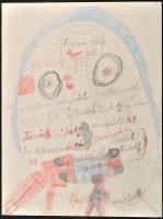 Lot 39B - Rudolf Horacek ''Kopf'' 1980 Signed and...