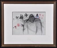 Lot 56 - Rolf Iseli ''King Kong'' 1975 Photolithograph...