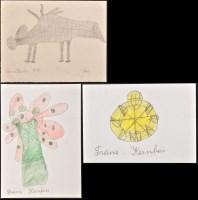 Lot 63 - Franz Kernbeis ''Blumenvase'' Signed Pencil...