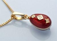 Lot 862-A diamond, enamel and 18ct. yellow gold...