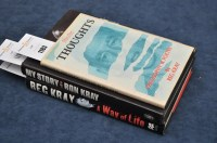 Lot 1183 - Kray (Reg) Thoughts, Philosophy & Poetry, 8vo,...