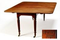 Lot 1396-An Irish early Victorian mahogany extending...
