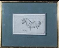 Lot 10 - Sir Alfred James Munnings, KCVO, PRA...