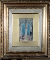 Lot 47 - Clarkson Stanfield, RA (1793-1867) A CATHEDRAL...