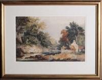 Lot 52 - Manner of David Cox, RA, RWS (1783-1859) A...