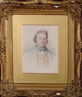 Lot 68 - John Henry Mole, VPRI (1814-1886) PORTRAIT OF...
