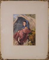 Lot 69 - John Henry Mole, VPRI (1814-1886) A YOUNG...